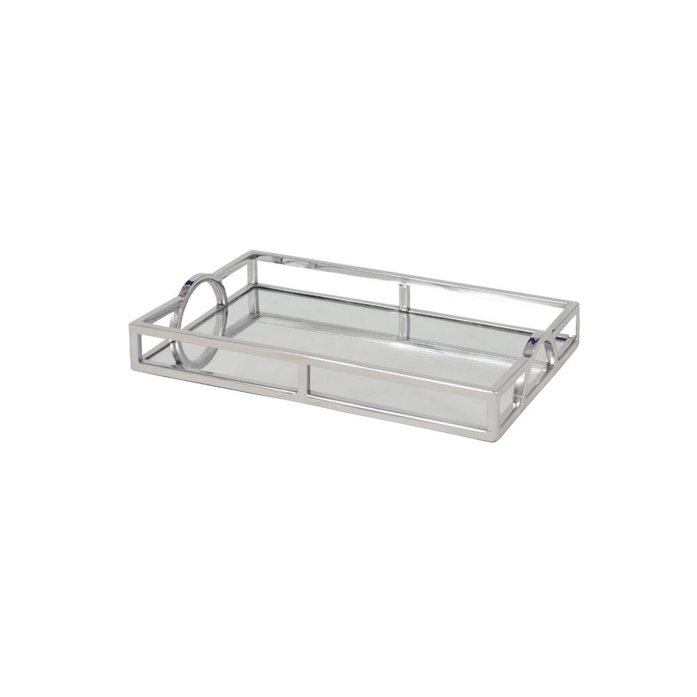20987 - Inox espelhada - 30x17x5 cm