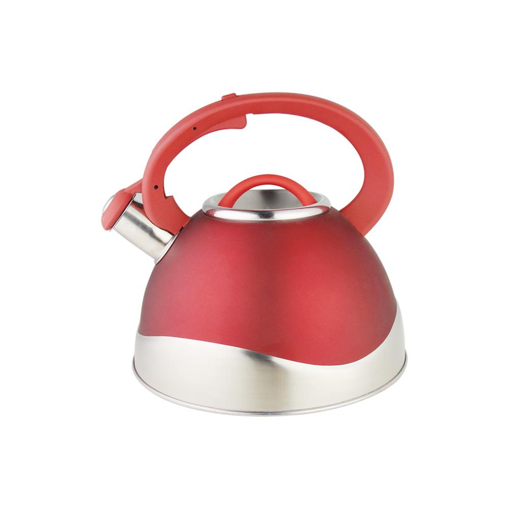 21957 - Chaleira Red com gatilho na alça - Inox 3L